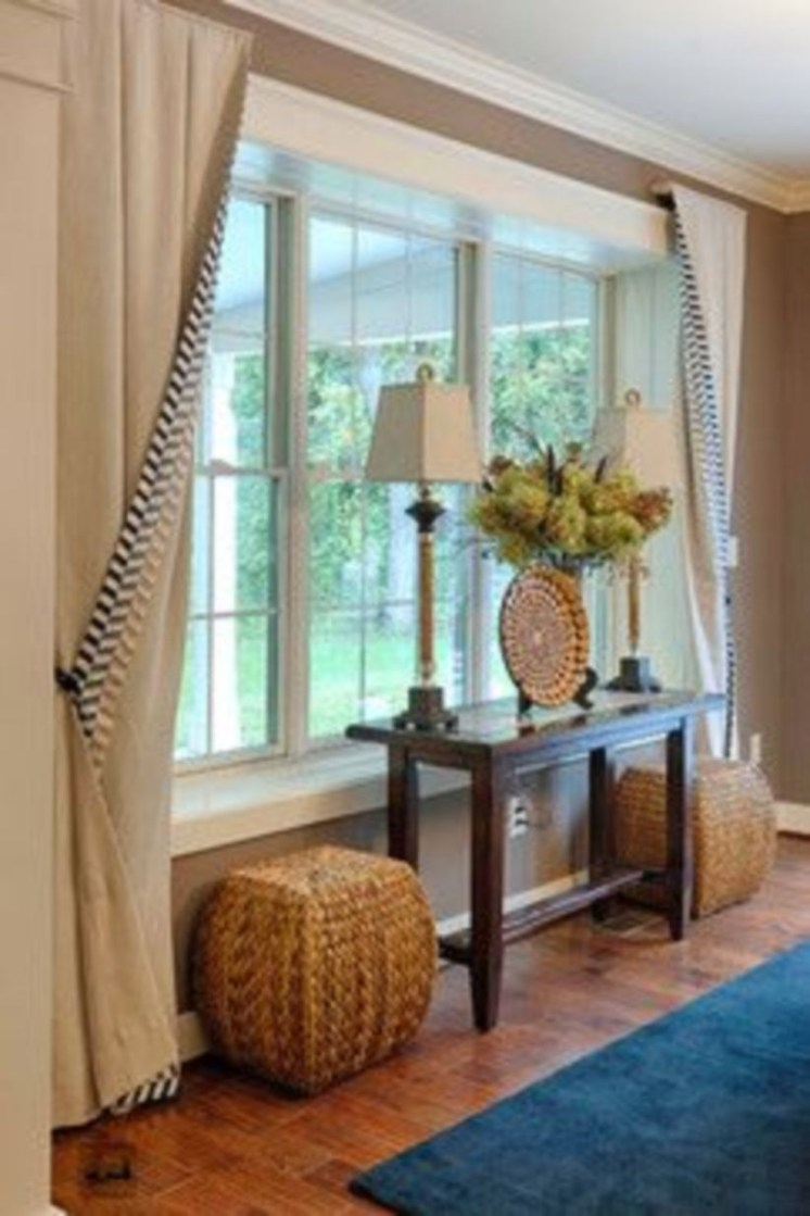 Window treatment and curtain ideas to beautify your window space 33