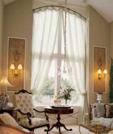 Window treatment and curtain ideas to beautify your window space 35
