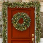 Winter christmas wreath to compliment your door 01