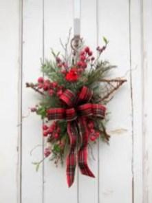 Winter christmas wreath to compliment your door 07