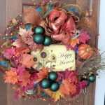 Winter christmas wreath to compliment your door 19