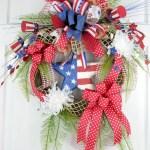 Winter christmas wreath to compliment your door 22