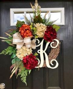 Winter christmas wreath to compliment your door 24