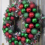 Winter christmas wreath to compliment your door 29