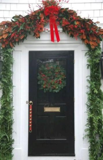 Winter christmas wreath to compliment your door 40