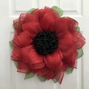 Winter christmas wreath to compliment your door 43