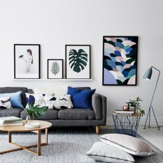Winter hygge home decorating ideas 23