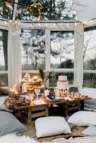 Winter hygge home decorating ideas 45