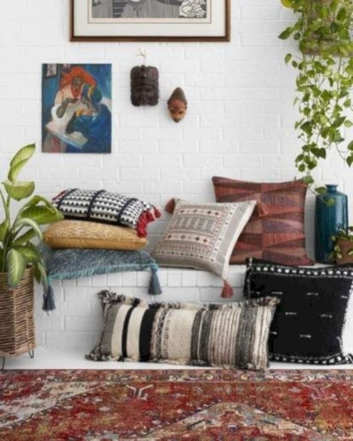 Winter hygge home decorating ideas 48