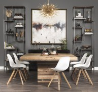 Amazing contemporary dining room decorating ideas 04