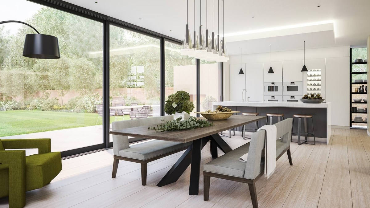 51 Amazing Contemporary Dining Room Decorating Ideas