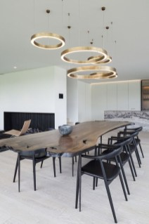 Amazing contemporary dining room decorating ideas 25