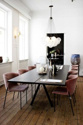 Amazing contemporary dining room decorating ideas 38