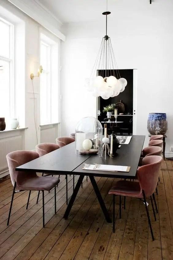 Amazing contemporary dining room decorating ideas 38