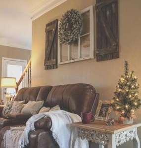 Awesome country farmhouse decor living room ideas 02