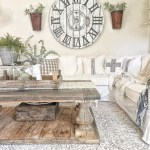 Awesome country farmhouse decor living room ideas 05