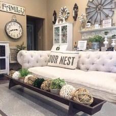 Awesome country farmhouse decor living room ideas 12
