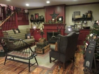 Awesome country farmhouse decor living room ideas 22