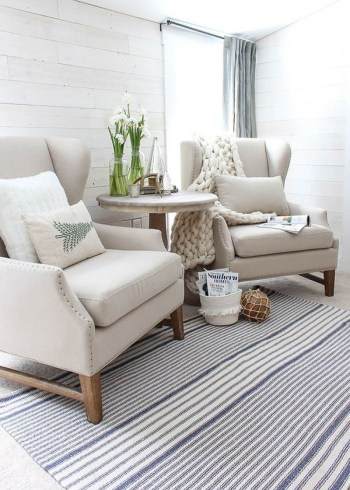Awesome country farmhouse decor living room ideas 31