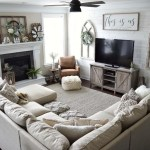 Awesome country farmhouse decor living room ideas 39