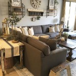 Awesome country farmhouse decor living room ideas 40