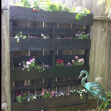 Beautiful yet functional privacy fence planter boxes ideas 06