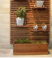 Beautiful yet functional privacy fence planter boxes ideas 10
