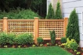 Beautiful yet functional privacy fence planter boxes ideas 11