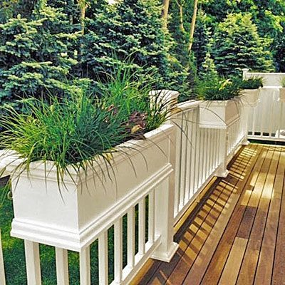 Beautiful yet functional privacy fence planter boxes ideas 15