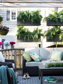 Beautiful yet functional privacy fence planter boxes ideas 18