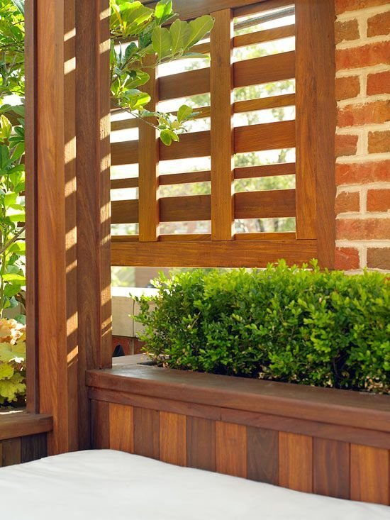 Beautiful yet functional privacy fence planter boxes ideas 26