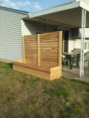 Beautiful yet functional privacy fence planter boxes ideas 47
