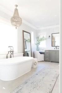 Cozy master bathroom decor ideas 09