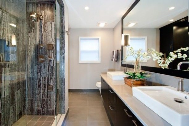 Cozy master bathroom decor ideas 15