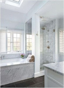 Cozy master bathroom decor ideas 33
