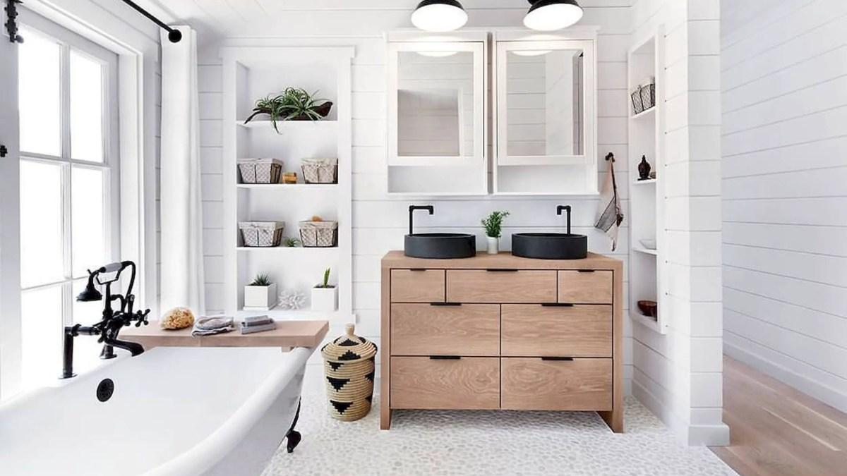 51 Cozy Master Bathroom Decor Ideas