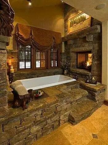 Cozy master bathroom decor ideas 37