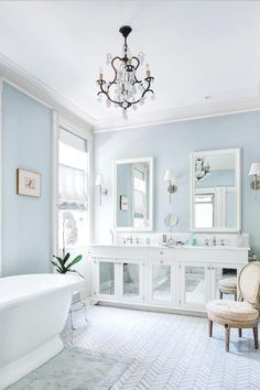 Cozy master bathroom decor ideas 39