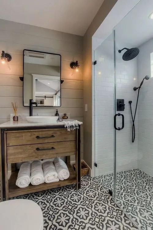 Cozy master bathroom decor ideas 49