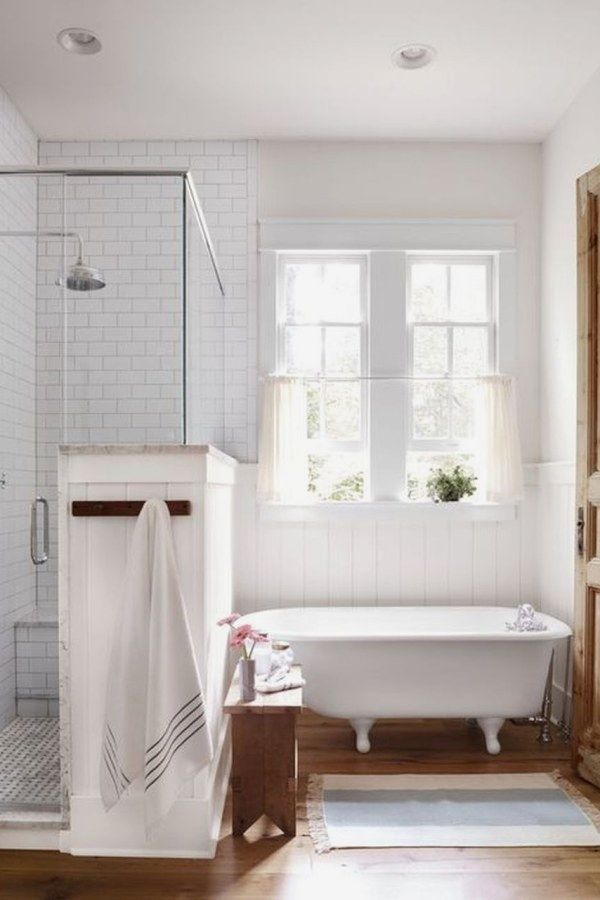 Cozy master bathroom decor ideas 51