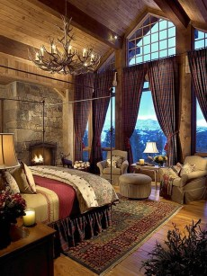 Cozy and beautiful bedroom for winter decor ideas 12