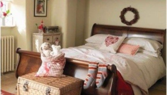 Cozy and beautiful bedroom for winter decor ideas 15