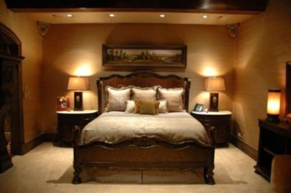 Cozy and beautiful bedroom for winter decor ideas 37