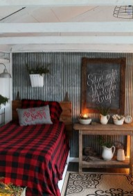 Cozy and beautiful bedroom for winter decor ideas 49
