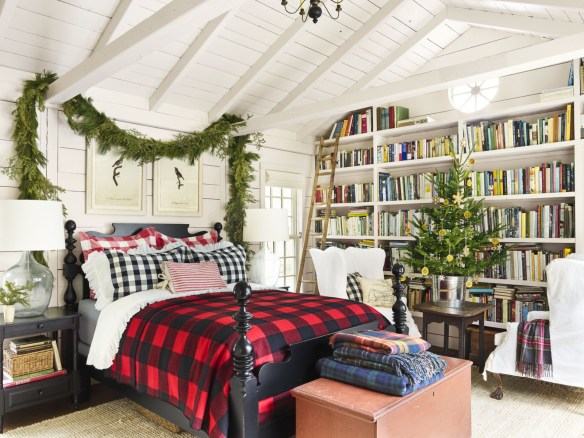 Cozy and beautiful bedroom for winter decor ideas 52