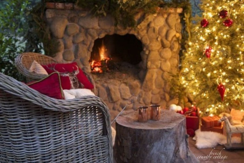 Fabulous winter patio decorating ideas 22