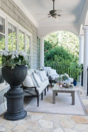 Fabulous winter patio decorating ideas 35