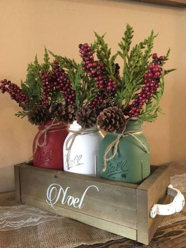 Favorite rustic winter decor to consider 15
