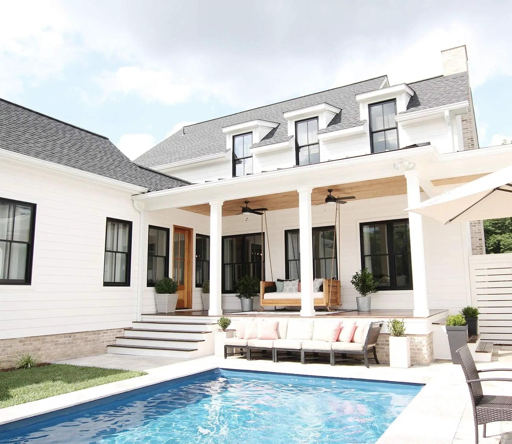 Home Design Ideas Outside: 53 Modern Farmhouse Exterior Design Ideas