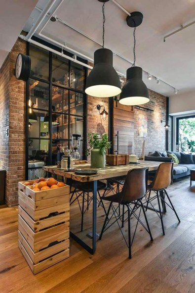 Rustic industrial decor and design ideas 03